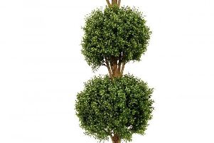 Cheryl must keep on top of her topiary balls