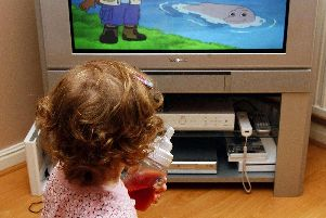 Blaise says it's impossible to stop children watching television and playing on computers altogether - and some screen time can be educational