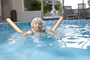 Verity witnessed swimming pool intimidation - from an elderly lady