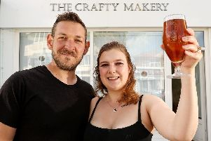 West Street Ale House, will be opened by Steve Willemsen and Kat Bull in Fareham in June Picture: Chris Moorhouse (040519-34)
