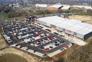 The land behind Brockhurst Gate Retail Park was initially intended for sports facilities