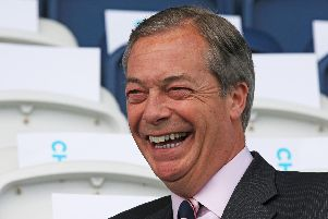 Nigel Farage is one of the candidates standing in the South East. Picture: Peter Byrne/PA Wire