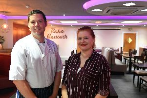 David Beedle and Joanne Upton have come back together in the world of food - now at 'Baba Ganoush' in Havant Road, Drayton. Picture by: Malcolm Wells.