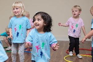 Children at diddi dance South East Hampshire and Chichester