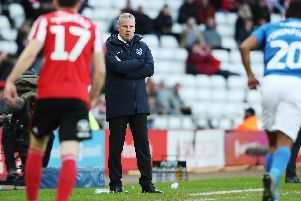 Kenny Jackett received three late injury blows with Brett Pitman, Lee Brown and Brandon Haunstrup ruled out of Saturday's Sunderland encounter through injury. Picture: Joe Pepler