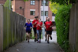 GoodGym in Portsmouth, a group of runners who perform community deeds