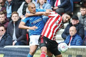 James Vaughan again faces being left out against former club Sunderland. Picture: Joe Pepler