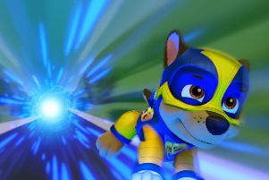 Paw Patrol: Mighty Pups will be in cinemas from May 17.