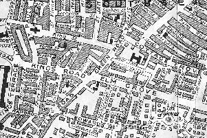The street map of Southsea caused such interest so here we are again but a little further south.
