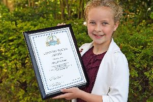 Gosport Youth Citizen of the Year winner Abigail Webber. Picture: Malcolm Wells