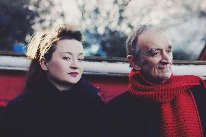 Martin Carthy, pictured with daughter Eliza, plays at Turner Sims, Southampton, on May 19, 2019