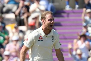 Fans on the Isle of Wight will relish the chance to see Stuart Broad & Co. Picture: Neil Marshall