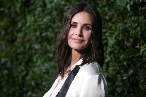 Courteney Cox attends the Chanel Dinner. Picture: Rich Fury/Getty Images
