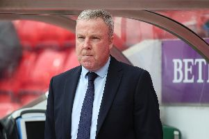 Kenny Jackett has revealed his playing budget will not alter for next season's promotion challenge. Picture: Joe Pepler