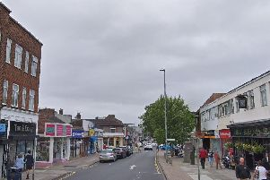 High Street, Cosham, which SSEN says is among the areas affected by a power cut. Picture: Google Street View