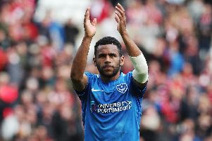 Kenny Jackett hopes he hasn't seen the last of Nathan Thompson at Fratton Park - but is seeking a replacement. Picture: Joe Pepler