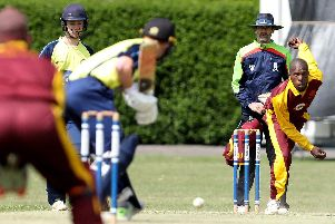 Havant's Siviwe Gidana has been helping out with the Australia and West Indies teams in the nets at the Ageas Bowl as part of their World Cup preparations. Picture: Chris Moorhouse