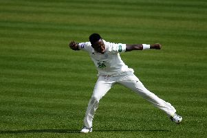 Fidel Edwards & Co finished the job for Hampshire to crush Nottinghamshire. Picture: Harry Trump/Getty Images