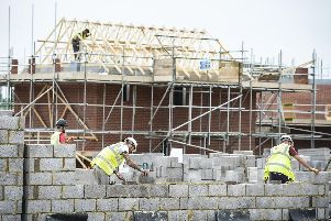 Housebuilding has been stalled across the area