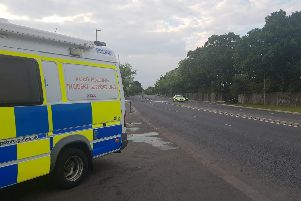 Police have closed Southampton Road