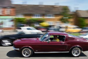 A 60s Mustang Fastback