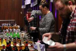 The first Cocktail Festival at Portsmouth Guildhall in April 2018. Picture: Chris Moorhouse