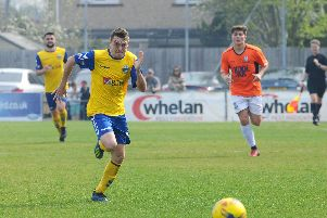 Ryan Pennery will be back in action for Gosport Borough next season. Picture: Sarah Standing (220419-6642)