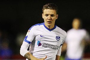 Former Pompey loanee Joe Mason has joined MK Dons. Picture: Joe Pepler