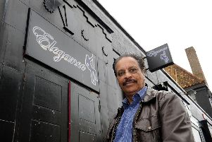 Paul Ojla owns Elegance in Southsea.'Picture: Ian Hargreaves  (120861-4)