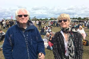 Southsea residents Brendan and Janet OMalley were both young children during the Second World War