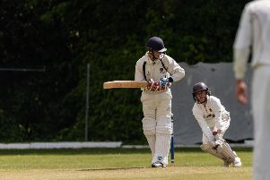 Hambledon skipper Spencer Le-Clercq is happy with a positive start to the season. Picture: Vernon Nash (110519- 08)