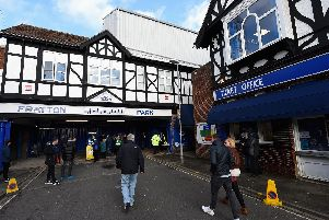 The Tudor entrance at Fratton Park. Picture: Mike Hewitt/Getty Images