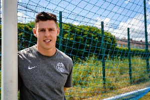 New signing James Bolton. Picture: Colin Farmery