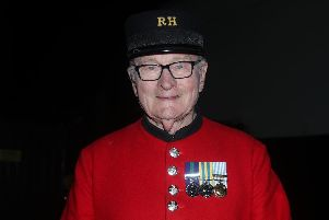 Chelsea Pensioner Colin Thackery who has won Britain's Got Talent, pocketing 250,000 and winning a spot at the Royal Variety Performance