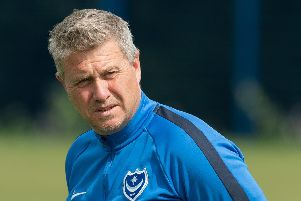 Pompey Academy chief Mark Kelly. Picture: Keith Woodland