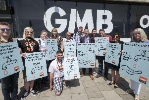 England, UK . 3.6.2018. Brighton . GMB Congress Sunday. Take Back the Tap Campaign. Photo licensed to GMB for distribution for publication free of charge in connection with the campaign, all other rights reserved.''Copyright  2018 Andrew Wiard''T: +44 (0) 7973 219201'W: www.reportphotos.com'E: andrew@reportphotos.com