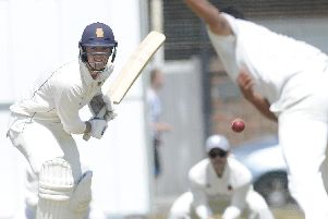 Ben Duggan batted well and was in a hurry to get back to the Isle of Wight Festival. Picture: Ian Hargreaves  (010619-1)
