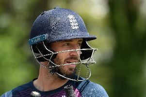 James Vince will be ready if needed on Tuesday. Picture: Alex Davidson/Getty Images