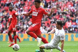 Josh Koroma of Leyton Orient (left). Picture: George Wood/Getty Images
