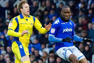 Ibrahima Sonko, Pompey's first signing following relegation from the Premier League, arrived in July 2010. Picture: Barry Zee