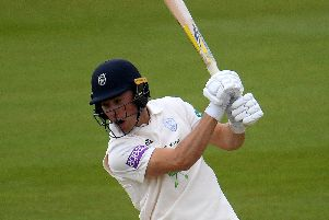 Hampshire's Joe Weatherley. Picture: Harry Trump/Getty Images