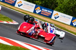 The second round of the British Sidecar Championship took place at Brands Hatch with the Brian Gray Powerbiking Race Team, headed by 68-year-old team boss Brian Gray with Portsmouth's Jason Pitt, enjoying an exciting weekend