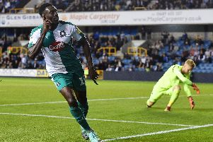 Pompey pulled out of a deal for Plymouth's Freddie Ladapo. Picture: Harriet Lander/Getty Images