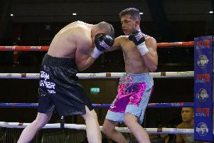 Lucas Ballingall is confident his fight for the Southern Area title can be a springboard towards his mission to become a Portsmouth boxing great. Picture: Neil Marshall (1713340-659)