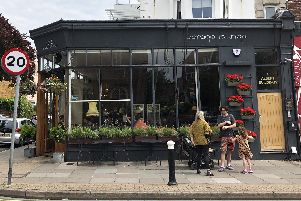 An exterior view of Garage Lounge in Albert Road, Southsea.