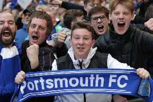 The Fratton faithful have the opportunity to buy an away season ticket for the 2019-20 campaign.: Barry Zee