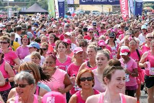 Race for Life on Southsea Common. Picture: Chris Moorhouse