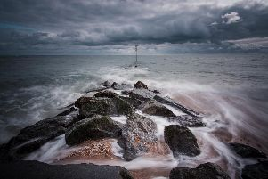 Rock groynes at Sandy Point, Hayling Island. Picture: Darren Drinkwater (@drinkwaterphoto)