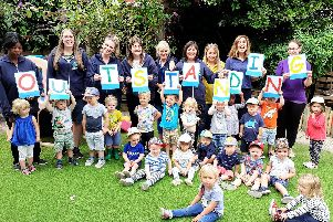 Leapfrog Neighbourhood Nursery has been judged outstanding by Ofsted.