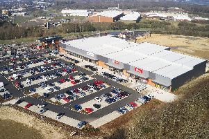 Big name retailers including M&S Foodhall, Lidl and Home Bargains are now open and trading at the newly-built Brockhurst Gate retail park